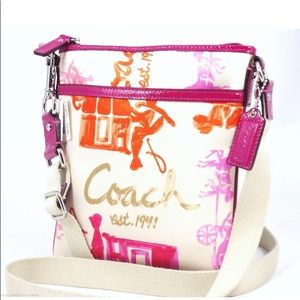 AUTHENTIC COACH F43813 HORSE/CARRIAGE CROSSBODY